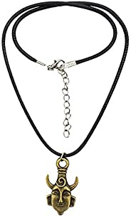 ArRord Supernatural Necklace, Dean Winchester's Fans Necklace. Stylish Bronze Plated Heart Necklace. Nice