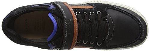 Geox black Baskets Elvis Garçon Schwarz D orangec0038 Basses 7Aa7fqWxrw