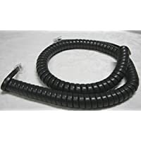 Lot of 10 Dark Gray 12 Ft Phone Handset Cords for Nortel Norstar T7100 T7208 T7316 T7316e Meridian T M3900 Series M3901 M3902 M3903 M3904 M3905 Charcoal 6 Tail/Lead/Leader (10-Pack) by DIY-BizPhones