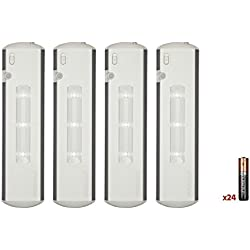 Duracell Under Cabinet Light 4 Pack 6AA (Batteries Included)