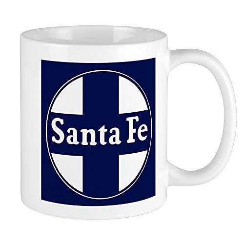 (CafePress Santa Fe Railroad - Background Mugs Unique Coffee Mug, Coffee Cup)