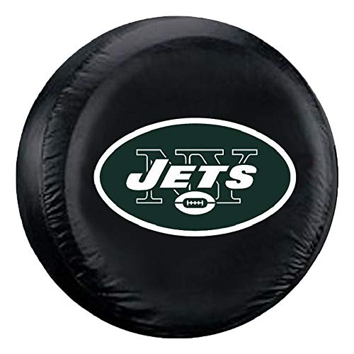(Fremont Die NFL New York Jets Tire Cover, Standard Size (27-29
