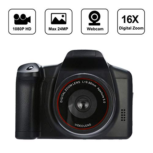 Yiwa Digital Camera 720P 16X Zoom DV Flash Lamp Recorder Record Digital Camera Film Cameras