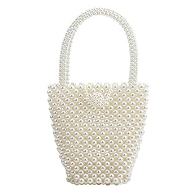 top pearl bag beaded box crystal totes bag women wedding party vintage handbag 2019 luxury brand evening bag clutch wholesale