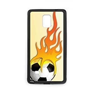 Brand New Phone For SamSung Galaxy S4 Mini Case Cover with diy Fire Football Soccer ball
