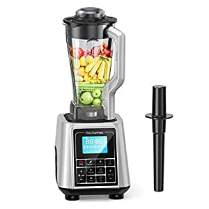 Elechomes CHS2002 Mixer High Speed Blender, 1600W Professional Commercial Smoothie Blender, 30000RPM Heavy Duty Food Processor for Ice, Soup, Mincemeat, Nut Butter with Large Tritan Pitcher