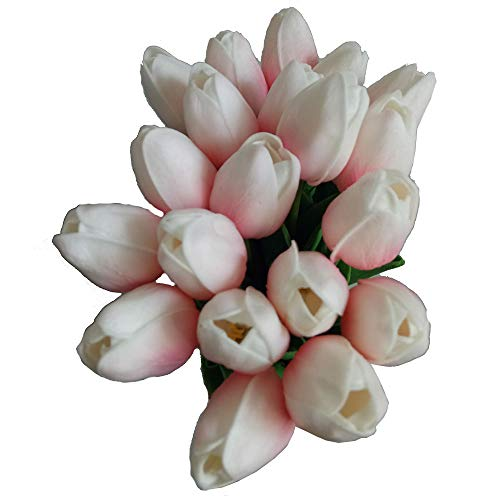 20PCSSet-PU-Tulip-Flower-Real-Touch-Artificial-Silk-Flowers-Arrangement-Bouquet-Home-Room-Office-Wedding-Party-Decor-Pink