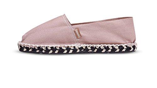 [espadrij] Het Klassieke Klassieke Katoenen Sneakerspoeder Van De Klassieke Vrouw