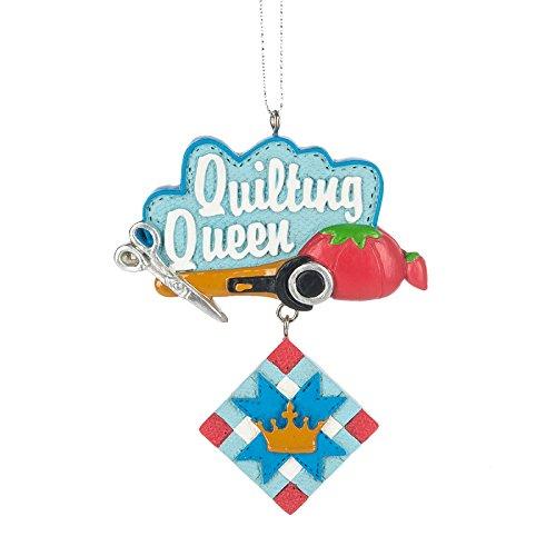 Quilting Queen Ornament
