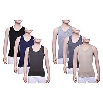 John Gladstone Multi Color Under Shirt For Boys