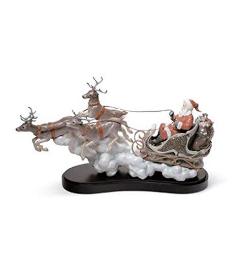 Lladro Santa's Midnight Ride