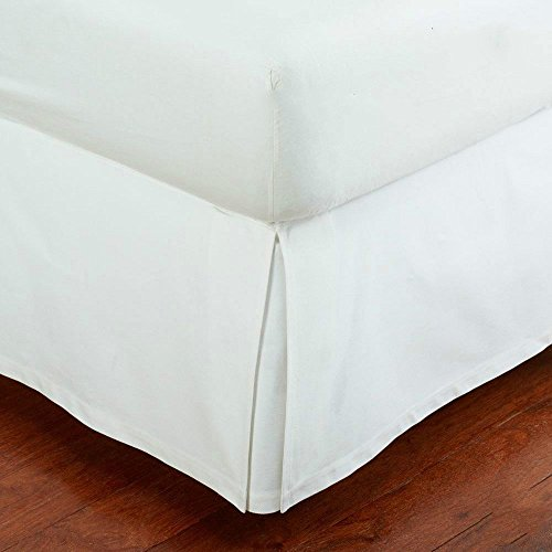 MK Home Queen Size Mk Collection Solid Pleated Bed Skirt with 14