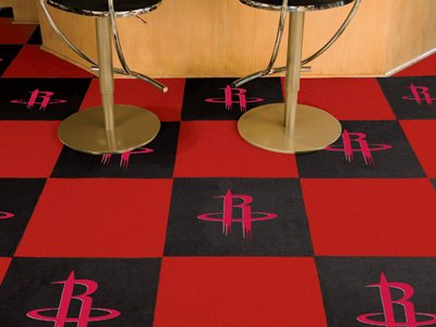 NBA - Houston Rockets Carpet Tiles