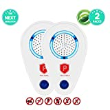 Ultrasonic Pest Repeller Plug in | Pest Repeller For Bugs, Insects, Mice, Roach, Rat, Spider, Flea, Mosquito etc. | Pest Repellent For Indoors & Outdoors | Safe, Eco-friendly Electric Repellent(2pack)