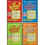 125 Sudoku Puzzles (Set Of 4 Books)