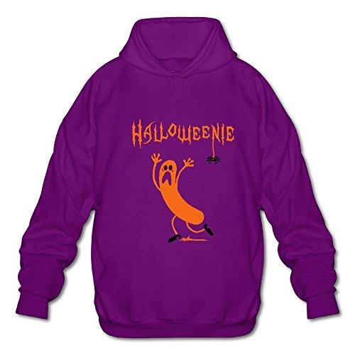WAOO Halloweenie A Running Sausage Sweater SizeXL ColorPurple ()