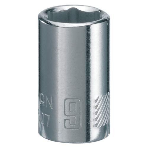 CMMT43508 1//4-Inch Drive Metric CRAFTSMAN Shallow Socket 6-Point 10mm
