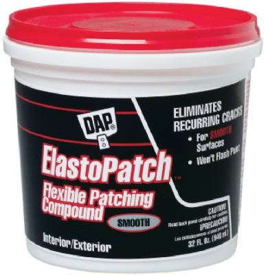 Dap 1 Quart White Elastomeric Patch & Caulking Compound 1227