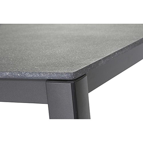 Mwh Elements Table 160 X 90 Cm Anthracite Grey Amazon Co Uk