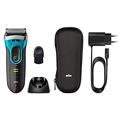 Braun All-in-One Advanced Gentle ProSkin Wet & Dry Rechargeable Electric Shaver & Beard Trimmer for Sensitive Skin