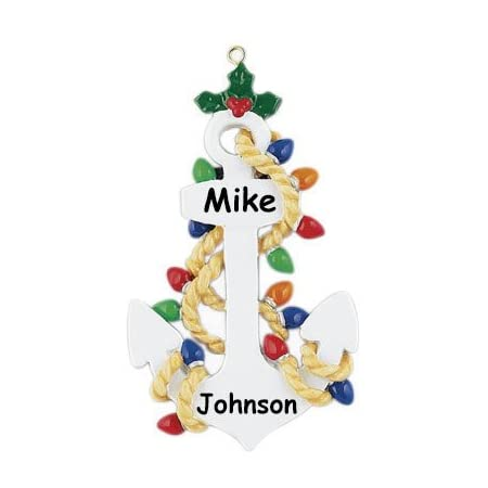 41D-r4MURfL._SS450_ Anchor Christmas Ornaments
