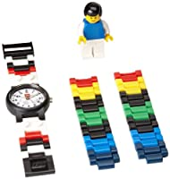 "LEGO Kids' 4193356 ""Soccer"" Watch With Minifigure from LEGO"