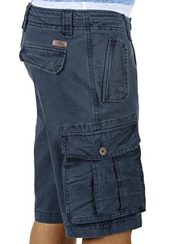 Bermudas Blue Pantalón Pantalones solid De 100 Regular Hombres 1991 Insignia Algodón Pombal Cortos Cargo Para fit gqxwpwAntS