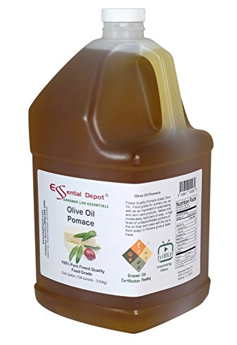 Olive Oil - Pomace Grade - Finest Quality - 1 Gallon - Food Safe