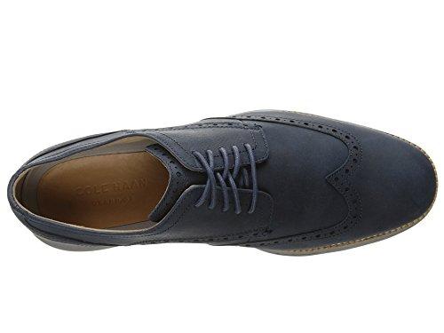 Cole Haan Men's Original Grand Shortwing Oxford, Blazer Blue/Ironstone, 9 Medium US