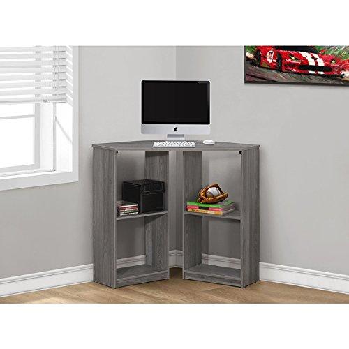 Monarch Grey Corner 36-inch Computer Desk Monarch