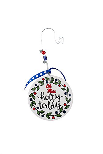 - Glory Haus Ole Miss Flat Ornament, Multicolor