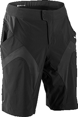 SUGOi Men's Evo-X Shorts, Black, Medium