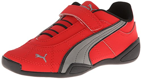 2 V Sneaker (Toddler/Little Kid) , High Risk Red/Steel/Gray/Black, 4 M US Toddler (Toddler Red Nubuck Kids Shoes)