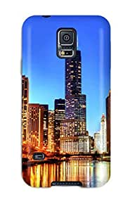 New Chicago City Tpu Case Cover, Anti-scratch Valerie Lyn Miller Phone Case For Galaxy S5