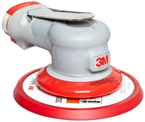 3M Random Orbital Sander - Elite Series 28501, Air-Powered, Non-Vacuum, 6 Inch, 3/32