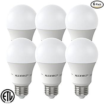alexfirst led lighting bulbs 100 watt equivalent 11w light bulbs 1000 lumens non dimmable a19. Black Bedroom Furniture Sets. Home Design Ideas