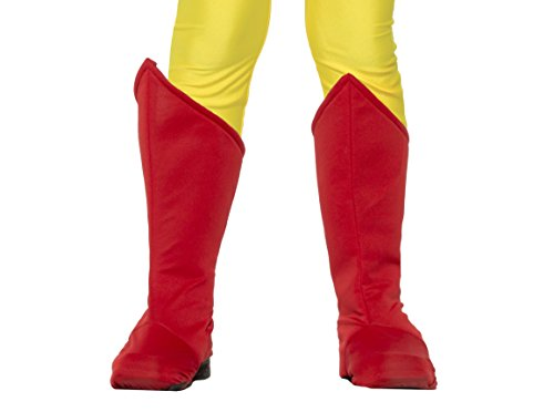 Children's Superhero Boot Covers Red