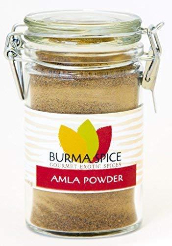Amla Powder (Indian Gooseberry Powder) 100% Natural, High Contents of Vitamin C and Antioxidants, Boosts Metabolism, Immunity, Hair Growth & Pigmentation, Kosher Certified (3oz.)