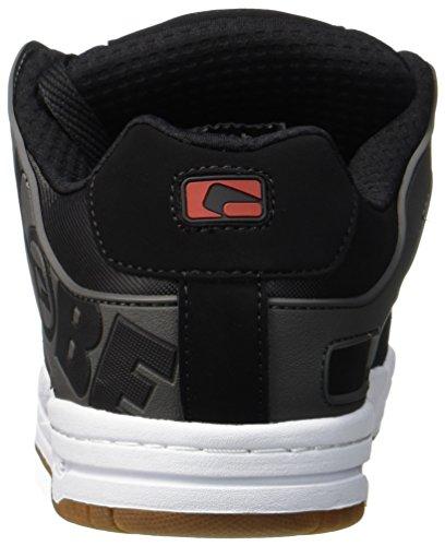 Hommes Chaussures Multicolores noir Charbon De Tilt Skateboard Globe Pour Rouge qSZ4nCx