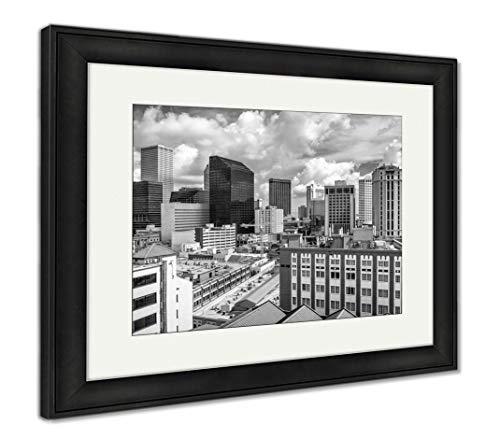 - Ashley Framed Prints New Orleans, Louisiana, USA, Wall Art Home Decoration, Black/White, 26x30 (Frame Size), Black Frame, AG32911970