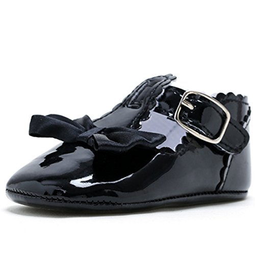 Belsen - Zapatos primeros pasos de Material Sintético para niña negro