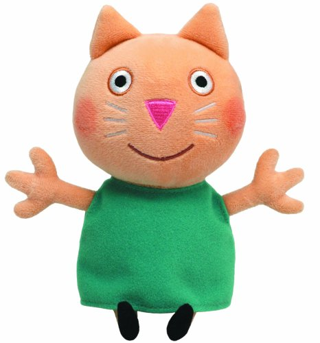 TY Beanie Baby - CANDY CAT (UK Exclusive - Peppa Pig)]()