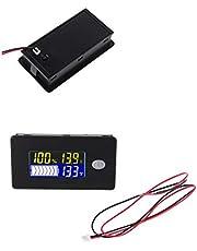 HELYZQ 10-100V Battery Capacity Indicator Voltmeter Universal Li-ion Lifepo4 Lead Acid