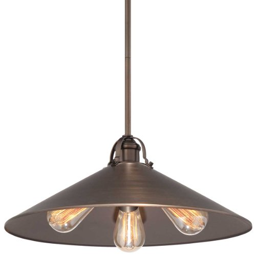 Copper Bronze Round Pendant Light in US - 8