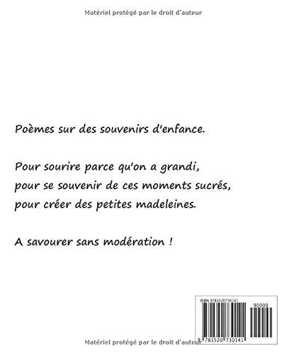 Amazoncom Souvenirs Denfance Poèmes French Edition