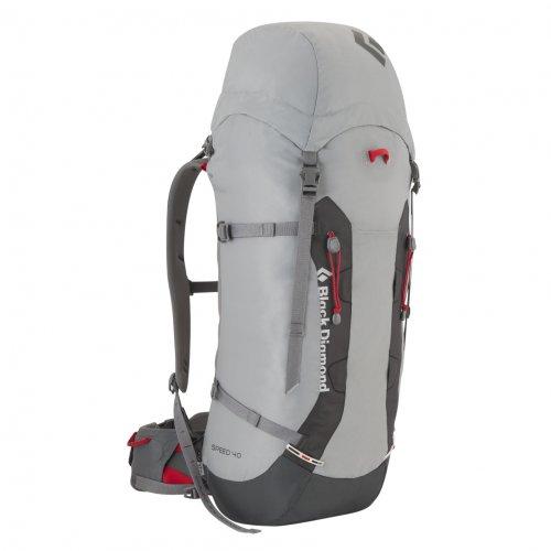 Black Diamond Speed 40 Camping Backpack, Vapor Gray, Medium, Outdoor Stuffs