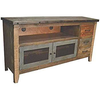 Amazon Com Crafters And Weavers Rustic Solid Wood 62 Inch