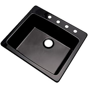 Dekor Sinks 40499q Bridgewood Composite Granite Single