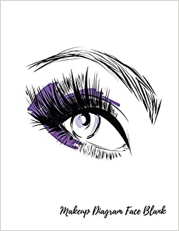 Remarkable Makeup Diagram Face Blank Eye Make Up Chart Large Notebook Wiring Digital Resources Nekoutcompassionincorg