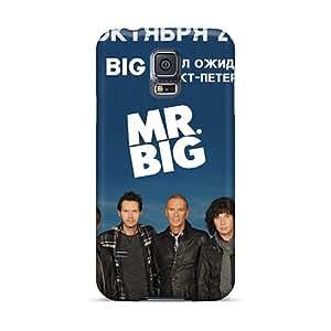 Samsung Galaxy S5 CYe5381NPiV Customized Nice Mr Big Band Image Scratch Protection Hard Cell-phone Case -InesWeldon